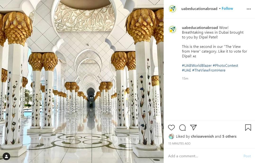 Photo Contest organized by Dubai authorities